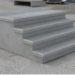 Prefabricated concrete step